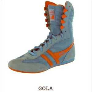 RARE Authentic Vintage 90s Gola boxing boots